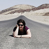 leaving death valley.  i couldn't resist.