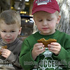 """i call this photo """"Hey mom--these aren't chocolate chips!""""  their expression is priceless!"""