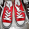 first day of school shoes.  chucks of course.